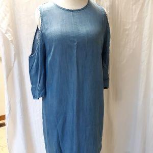 Cold shoulder dress from Francesca's
